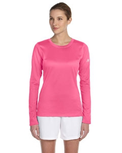 New Balance N9119L Ladies' Tempo Long-Sleeve Performance T-Shirt