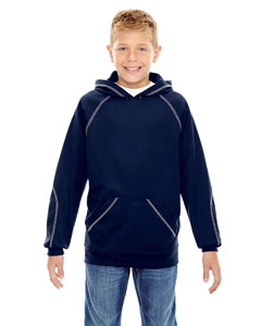 North End 68164 Youth Pivot Performance Fleece Hoodie