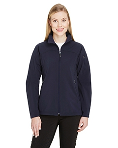 North End 78034 Ladies' Three-Layer Fleece Bonded Performance Soft Shell Jacket