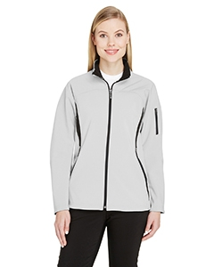 North End 78034 Ladies' Three-Layer Fleece Bonded Performance Soft Shell Jacket