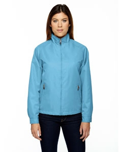 North End 78044 Ladies' Mid-Length Micro Twill Jacket