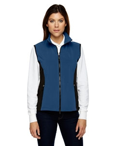 North End 78050 Ladies' Three-Layer Light Bonded Performance Soft Shell Vest