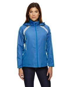 North End 78168 Ladies' Sirius Lightweight Jacket with Embossed Print