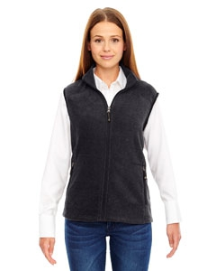 North End 78173 Ladies' Voyage Fleece Vest