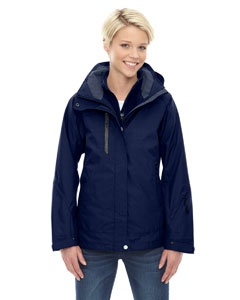 North End 78178 Ladies' Caprice 3-in-1 Jacket with Soft Shell Liner