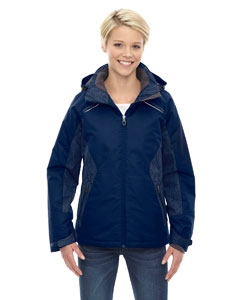 North End 78197 Ladies' Linear Insulated Jacket with Print