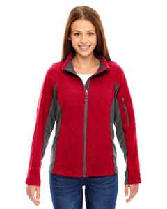 North End 78198 Ladies' Generate Textured Fleece Jacket