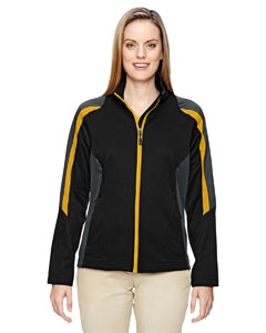 North End 78201 Ladies' Strike Colorblock Fleece Jacket