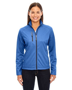North End 78213 Ladies' Trace Printed Fleece Jacket