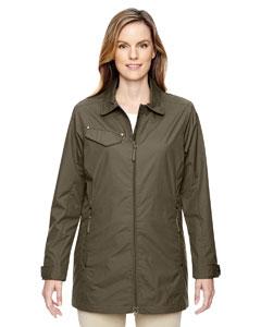 North End 78218 Ladies' Excursion Ambassador Lightweight Jacket with Fold Down Collar