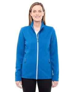 North End 78229 Ladies' Torrent Interactive Textured Performance Fleece Jacket