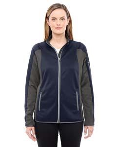 North End 78230 Ladies' Motion Interactive ColorBlock Performance Fleece Jacket