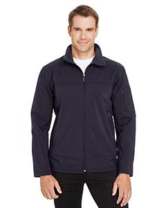 North End 88099 Men's Three-Layer Fleece Bonded Performance Soft Shell Jacket