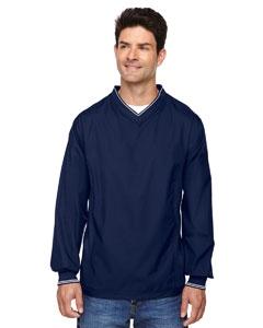 North End 88132 Men's V-Neck Unlined Wind Shirt