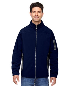 North End 88138 Men's Three-Layer Fleece Bonded Soft Shell Technical Jacket
