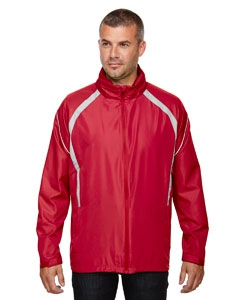North End 88168 Men's Sirius Lightweight Jacket with Embossed Print