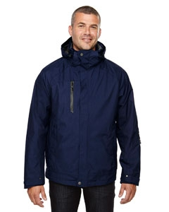 North End 88178 Men's Caprice 3-in-1 Jacket with Soft Shell Liner