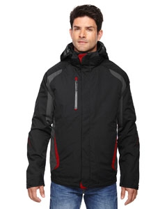North End 88195 Men's Height 3-in-1 Jacket with Insulated Liner