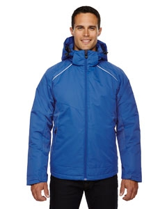 North End 88197 Men's Linear Insulated Jacket with Print
