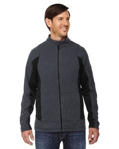 North End 88198 Men's Generate Textured Fleece Jacket