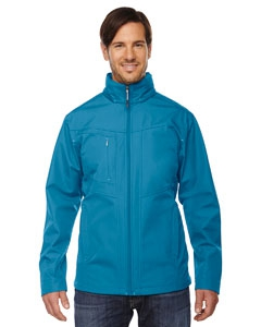 North End 88212 Men's Forecast Three-Layer Light Bonded Travel Soft Shell Jacket