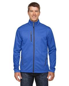 North End 88213 Men's Trace Printed Fleece Jacket