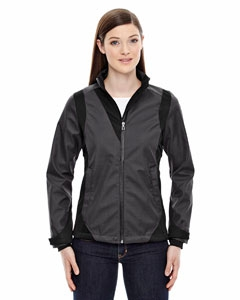 North End Sport Blue 78686 Ladies' Commute Three-Layer Light Bonded Two-Tone Soft Shell Jacket with Heat Reflect Technology