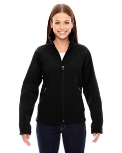North End Sport Red 78604 Ladies' Three-Layer Light Bonded Soft Shell Jacket