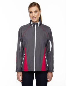 North End Sport Red 78644 Ladies' Impact Active Lite Colorblock Jacket