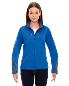 North End Sport Red 78649 Ladies' Escape Bonded Fleece Jacket