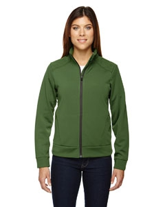 North End Sport Red 78660 Ladies' Evoke Bonded Fleece Jacket