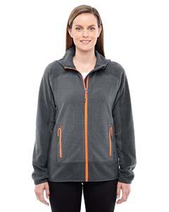 North End Sport Red 78810 Ladies' Vortex Polartec Active Fleece Jacket