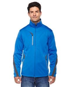North End Sport Red 88649 Men's Escape Bonded Fleece Jacket