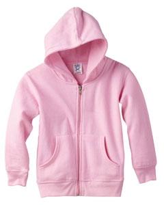 Rabbit Skins 3346 Toddler's 7.5 oz. Full-Zip Fleece Hood