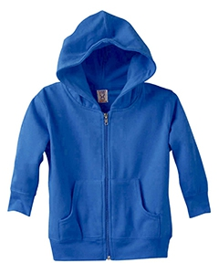 Rabbit Skins 3346 Toddler's 7.5 oz. Full-Zip Fleece Hood
