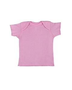 Rabbit Skins R3400 Infants'5 oz. Baby Rib Lap Shoulder T-Shirt