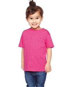 Rabbit Skins RS3305 Toddler's Vintage Heathered Fine Jersey T-Shirt