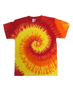 Tie-Dye CD100Y Youth 4.5 oz. 100% Cotton Tie-Dye T-Shirt