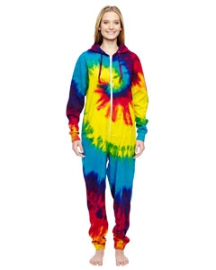 Tie-Dye CD892 All-In-One Loungewear