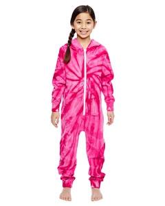 Tie-Dye CD892Y Youth All-In-One Loungewear