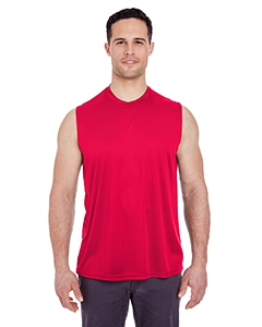 UltraClub 8419 Adult Cool & Dry Sport Performance Interlock Sleeveless Tee
