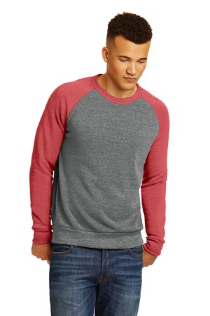 Alternative Champ Colorblock EcoFleece Sweatshirt. AA32022