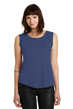 Alternative Women's Cap Sleeve Satin Jersey Crew TShirt. AA4013