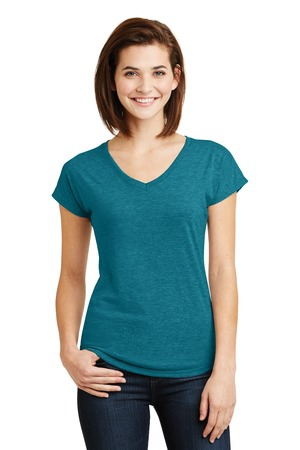 Anvil Ladies TriBlend VNeck Tee. 6750VL