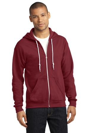Anvil FullZip Hooded Sweatshirt. 71600
