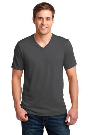 Anvil 100% Combed Ring Spun Cotton VNeck TShirt. 982