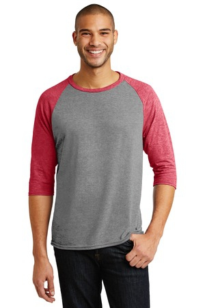 Anvil TriBlend 3/4Sleeve Raglan Tee. AN6755