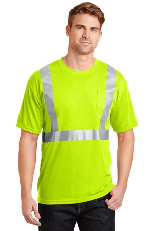 CornerStone  ANSI 107 Class 2 Safety TShirt.  CS401