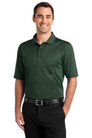 CornerStone Select SnagProof Tipped Pocket Polo. CS415