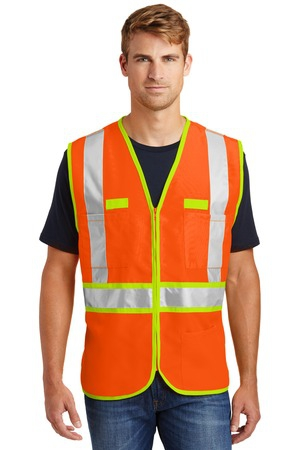 CornerStone  ANSI 107 Class 2 DualColor Safety Vest. CSV407
